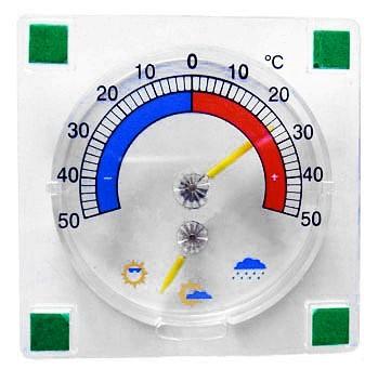Как закрепить термометр на пластиковое окно за несколько секунд?