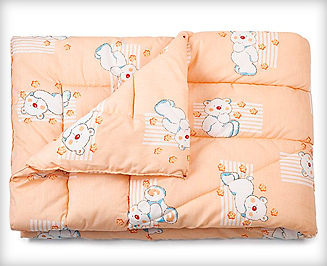 Какое одеяло лучше для новорожденного в кроватку, какой материал теплее