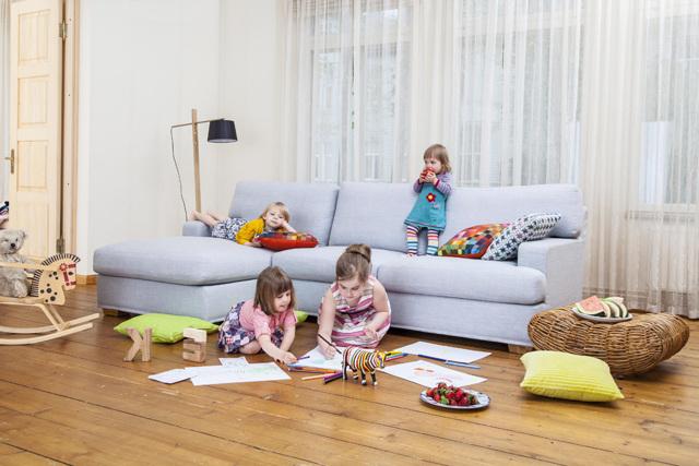 Как вывести запах кошачьей, собачьей, детской мочи с дивана: лучшие способы