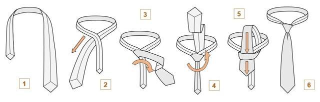 Как завязать галстук – 6 способов
