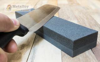 Бруски для заточки ножей: природные и искусственные