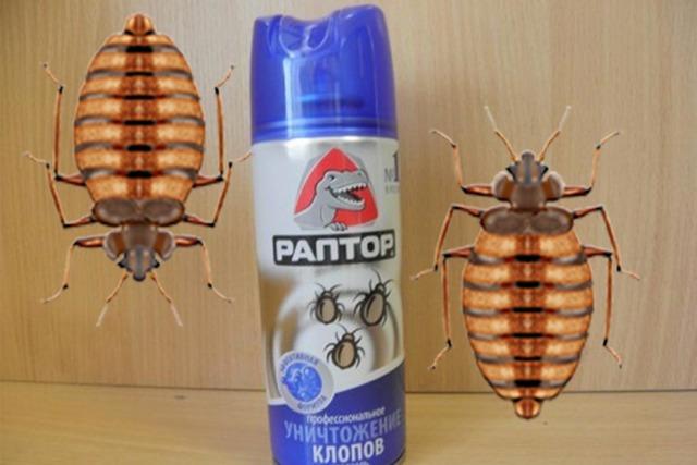 Раптор от комаров: типы средств и способы их применения