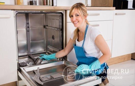 Как почистить посудомоечную машину в домашних условиях от жира