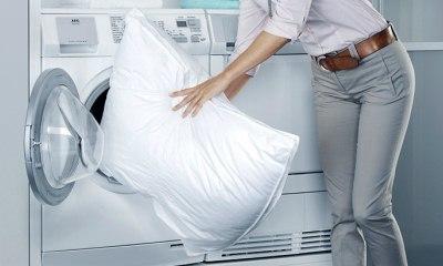 Как стирать подушки из пуха, холлофайбера, бамбука и антистресса?