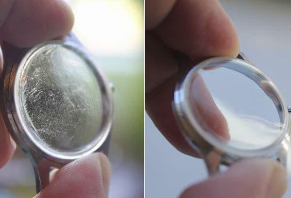 Как отполировать стекло на часах: способы для царапин разной глубины