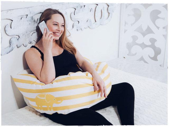 Подушка для беременных: зачем нужна и как выбрать