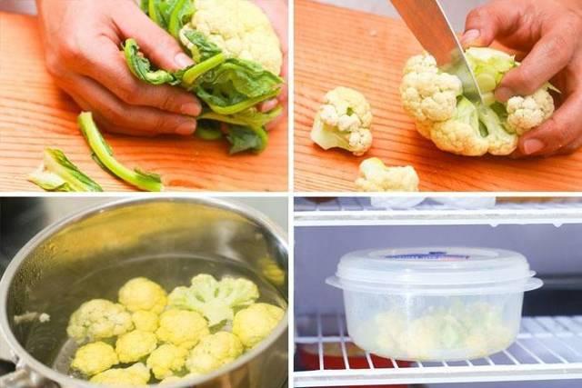 Как заморозить цветную капусту на зиму в домашних условиях: правила, рекомендации, срок годности