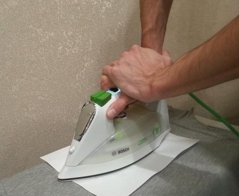 Как приклеить термонаклейку на ткань утюгом в домашних условиях