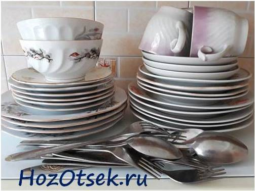 Как мыть посуду: способы и средства