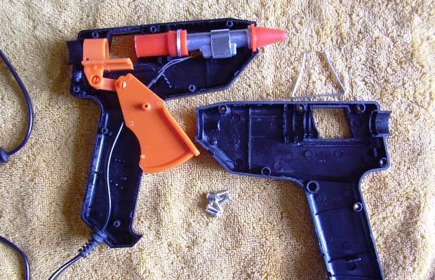 Пистолет клеевой: область применения и правила выбора