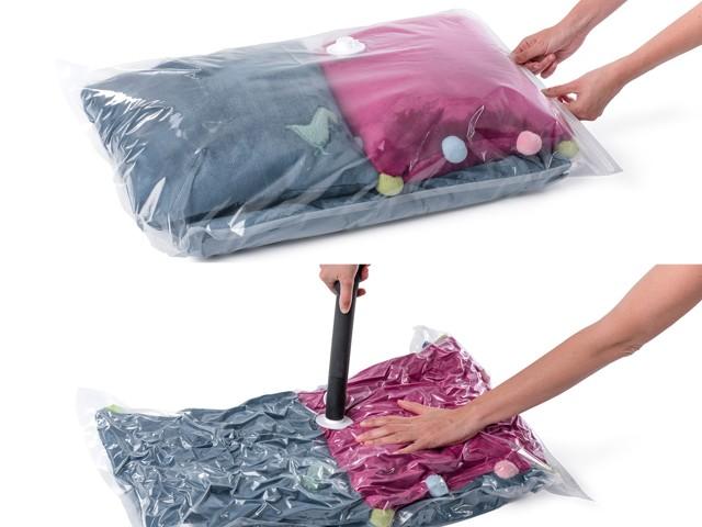 Какие вещи можно хранить в вакуумных пакетах: пользуемся мешками правильно