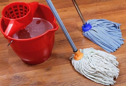Как правильно мыть пол с разными видами покрытия?