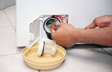 Как почистить фильтр стиральной машины в домашних условиях