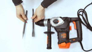 Как сверлить без пыли стену или потолок: специальные насадки для перфоратора и другие секреты