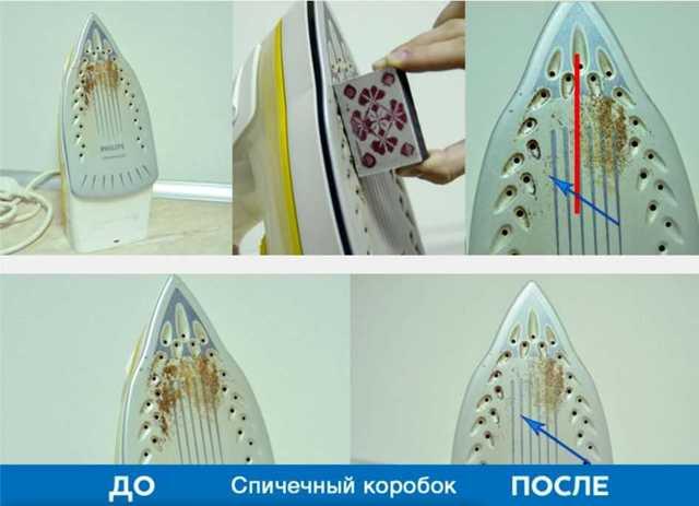 Как почистить подошву утюг в домашних условиях от нагара 6 способов