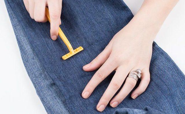 Как наточить станок для бритья об джинсы, чтобы продлить его жизнь